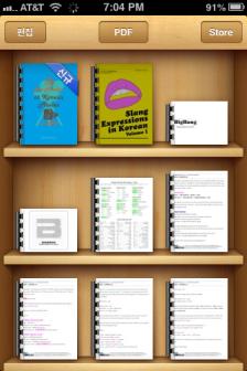 iBooks PDFs