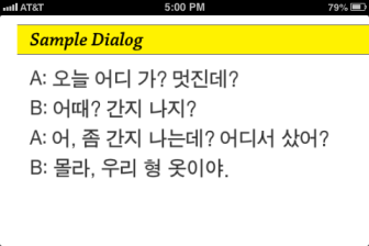 Slang Expressions dialogue