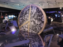 Artwork in the GD-curated PEACEMINUSONE exhibit 2015
